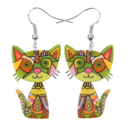 Fun and Funky Cat Earrings – GotAnimalPri