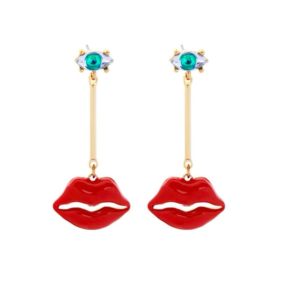 Holiday earrings Party earrings Funky earrings Statement | Et