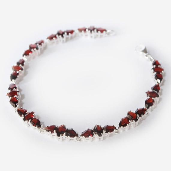 garnet bracelet, garnet gemstone bracelet, garnet bracelets for .