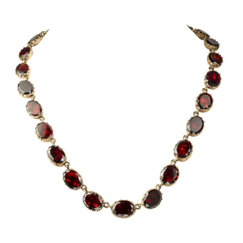 A Georgian garnet necklace - Modern Jewellery, Necklaces & Chains .