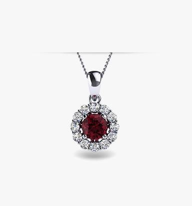 Order Garnet Jewelry | GLAMIRA.c