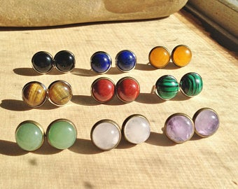 Gemstone earrings | Et