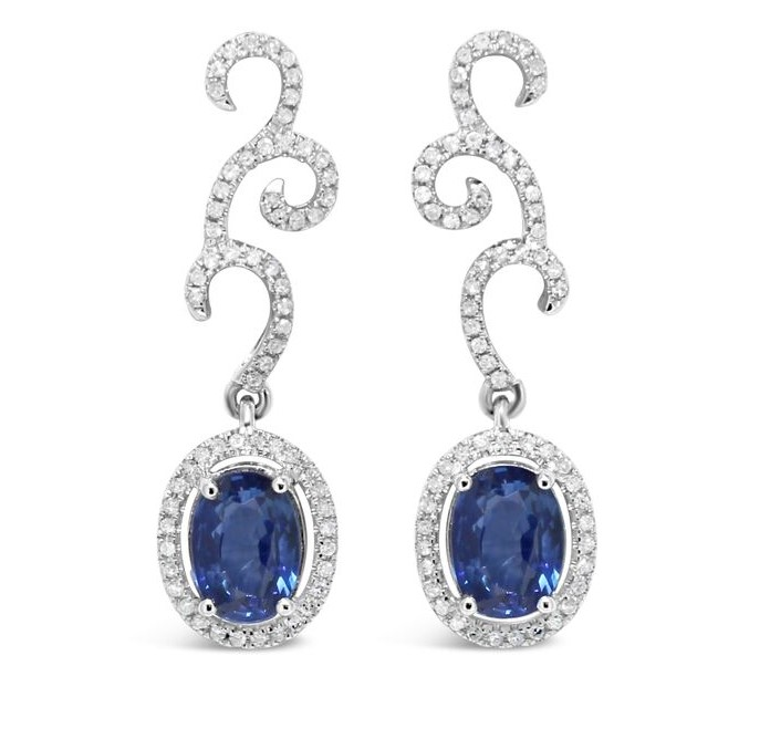 Gemstone Earrings 001-210-01441 | Gemstone Earrings from Anthony .