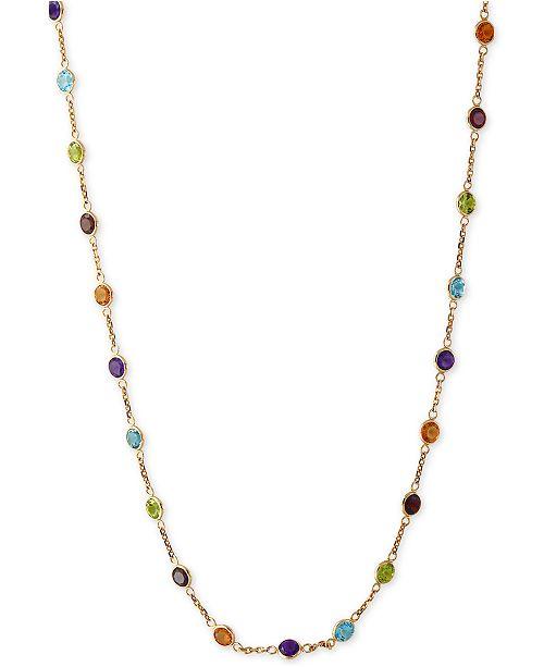 EFFY Collection EFFY® Mosaic Collection Multi-Gemstone Link Collar .
