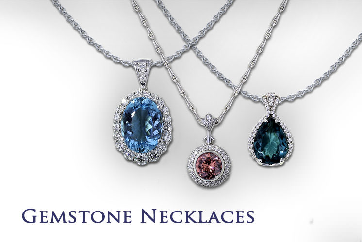 Gemstone Necklaces | Jewelry Desig