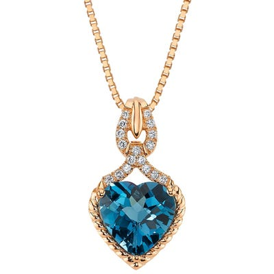 Buy Topaz Gemstone Necklaces Online at Overstock | Our Best .