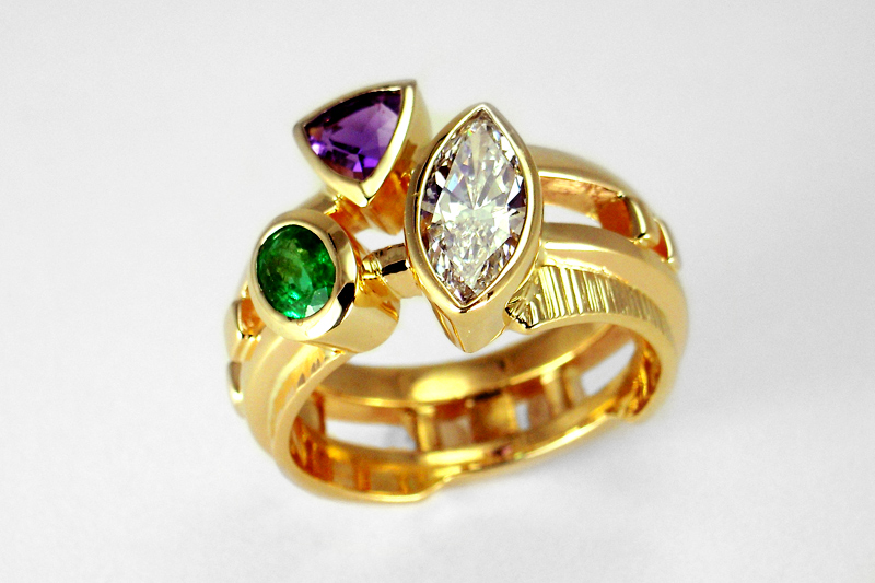 Gemstone Rings Collection | Savas Designers and Jewele