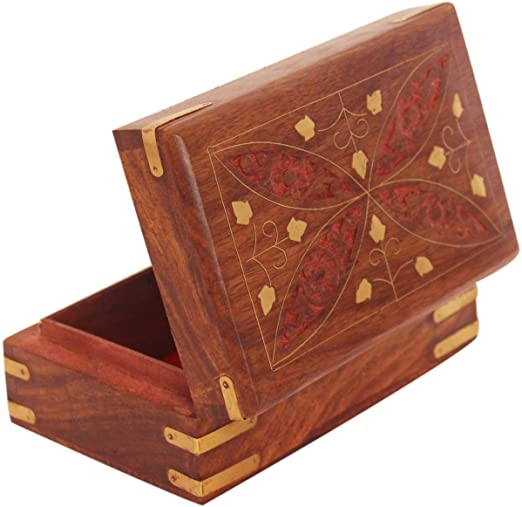 Amazon.com: The StoreKing Hand Carved Wooden Keepsake Decorative .