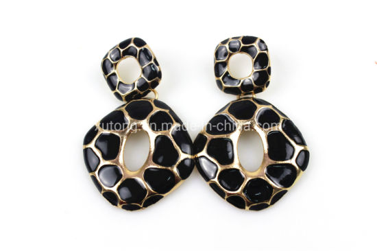 China Snakeskin Pattern Earrings Fashion Jewelry Gift for Girls .