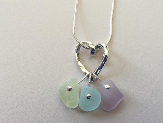 Barbara's beautiful sea glass jewelry - Picture of Just Us .