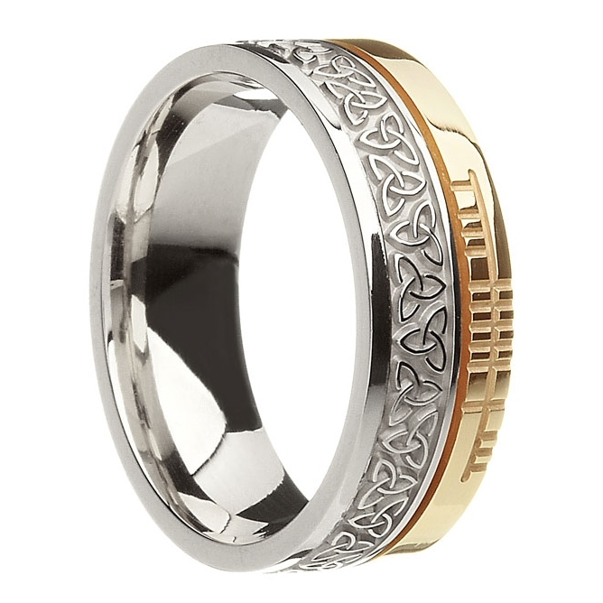 Celtic Trinity Wedding Ring USG-B