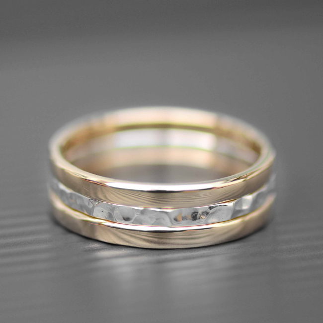 Gold and Silver Rings | LWSilver | Handmade Jewellery Design