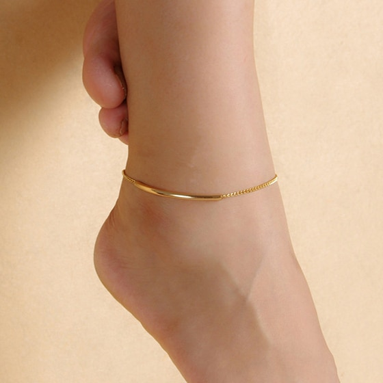 Ankle Bracelet Feet Leg Chain Metal Barefoot Sandals Anklets For .