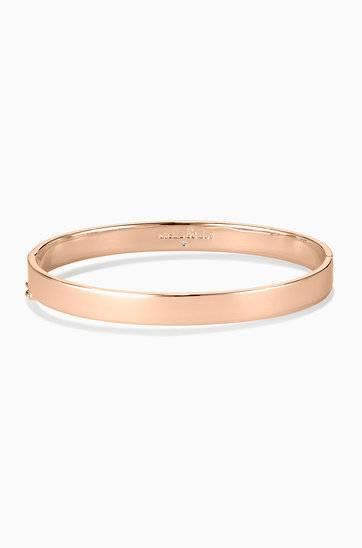 Rose Gold Signature Engravable Bangle Bracelet | Stella and Dot .