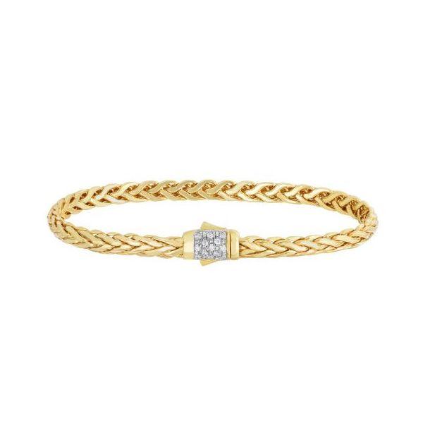 Gold Bracelet 001-440-00632 - Gold Bracelets | Morrison Smith .