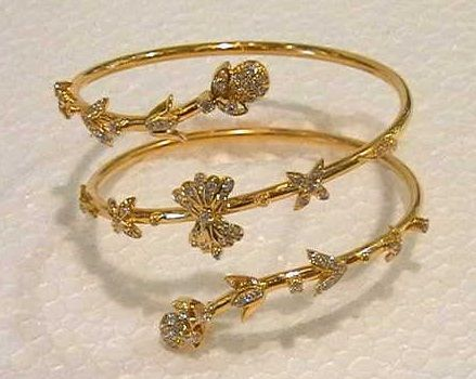 30 Best Gold Bracelets For Women And Girls | Gold bracelet for .
