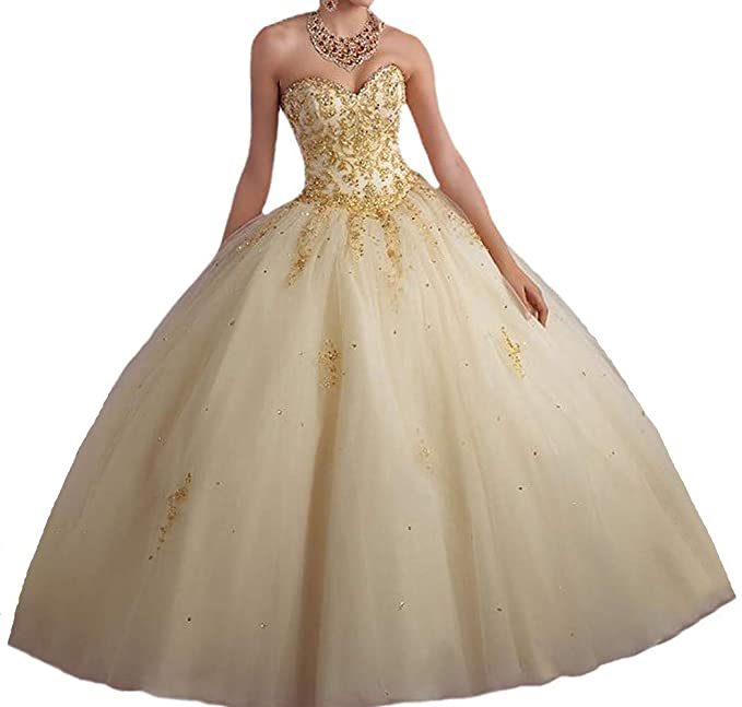 Vnaix Bridals Princess Lace with Tulle Sweet 16 Prom Quinceanera .