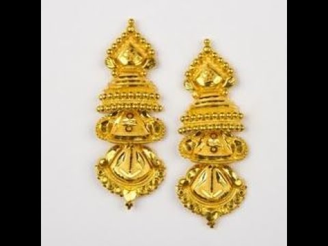 Unique Gold Earrings Designs - YouTu