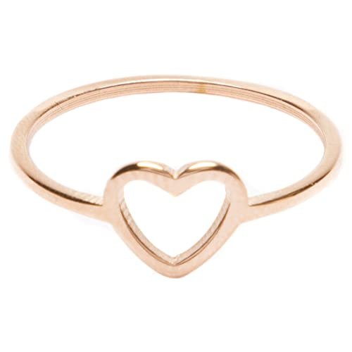 Gold Heart Rings: Amazon.c