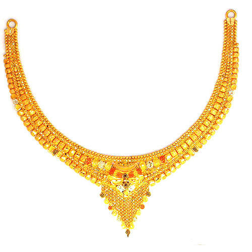 Gold Women Necklace at Rs 30000 /piece | Gold Necklace | ID .