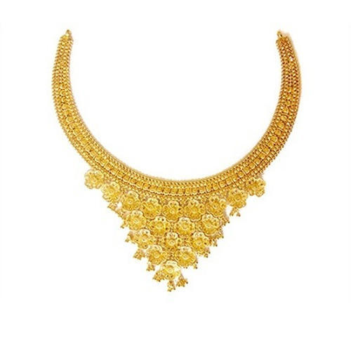 Women Wedding Gold Necklace at Rs 60000 /piece | Gold Necklace .