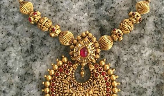 Traditional Indian Antique Jewellery For Women | Antique jewelry .