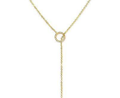 Amazon.com: Y Necklaces for Women | Gold Necklace, Lariat .
