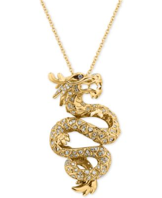 EFFY Collection EFFY® Diamond Dragon Pendant Necklace (5/8 ct .