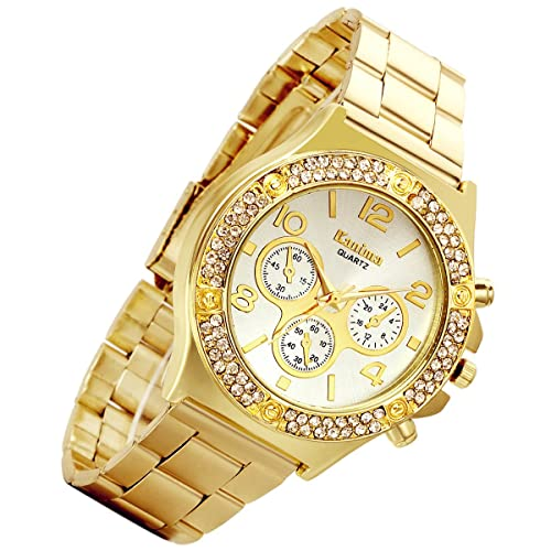 White Gold Watch: Amazon.c