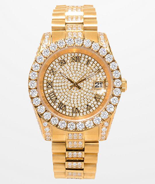 King Ice LX 14k Gold Watch | Zumi
