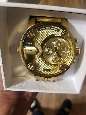Diesel watch men gold | eB