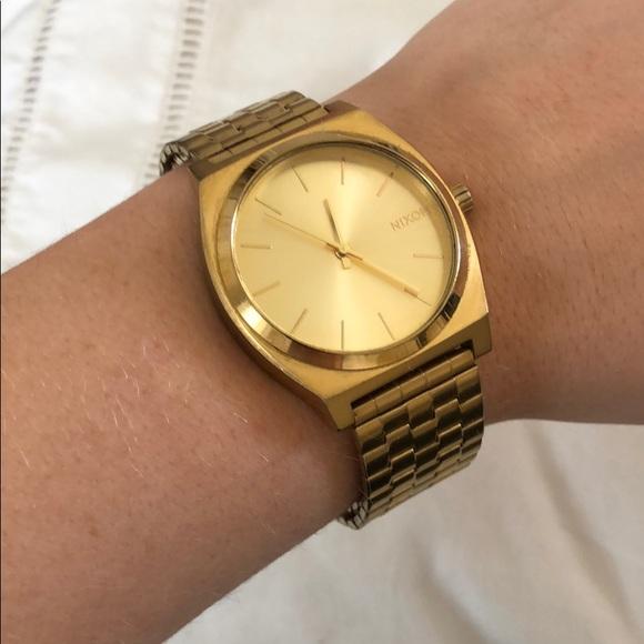 Nixon Accessories | Gold Watch | Poshma
