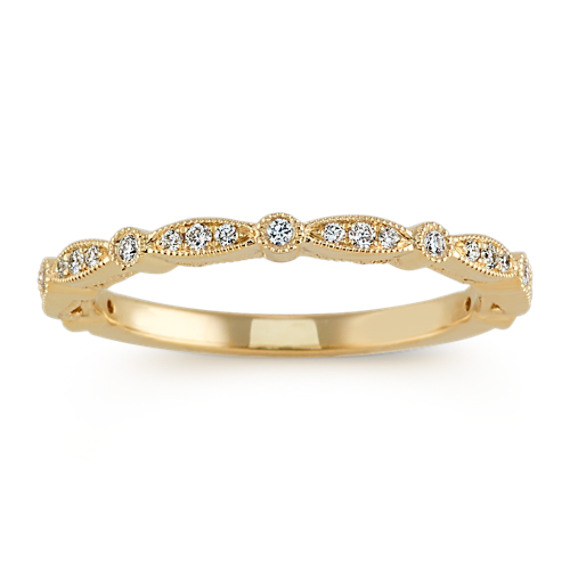 Vintage 14k Yellow Gold Wedding Band | Shane C