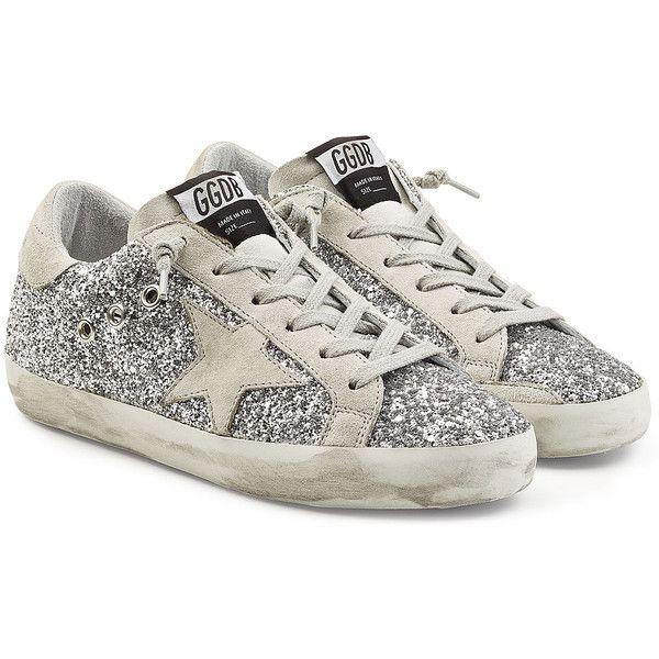 Golden Goose Deluxe Brand Super Star Glitter Sneakers (23.555 RUB .