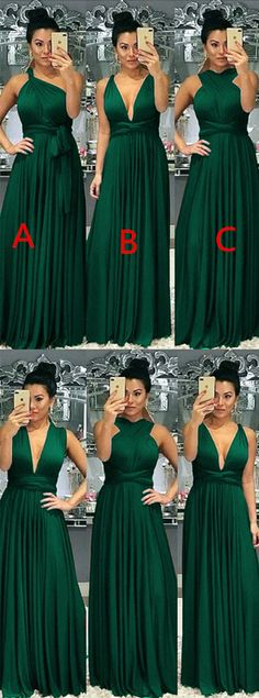 79 Best Emerald green bridesmaid dresses images in 2020 | Emerald .