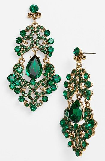 Emerald and Gold Earrings | Amazing jewel