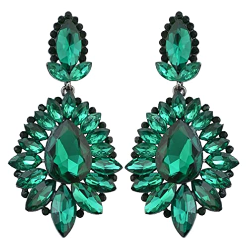 Green Earrings: Amazon.c