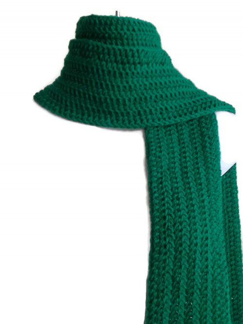 Kelly Green Wool Scarf Classic Men Women | smittenkittenorig on .
