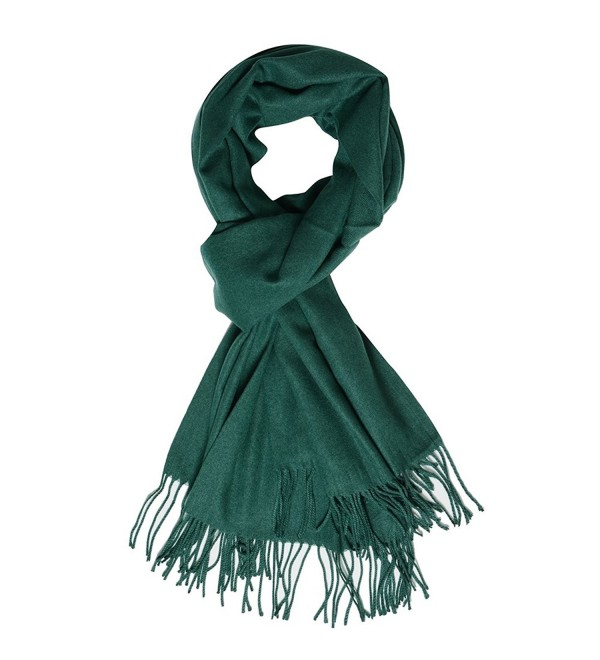 Womens Large Soft Scarf Solid Winter Pashmina Cashmere Feel Shawl .