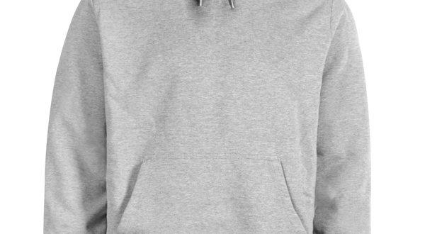 Blank Grey Hoodie - Basic tees sh
