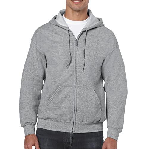 Men's Grey Hoodie: Amazon.c