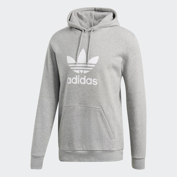 adidas Trefoil Hoodie - Grey | adidas