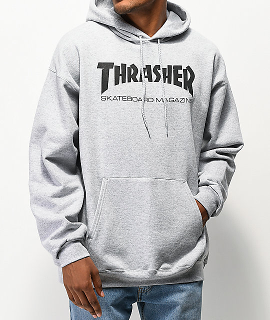 Thrasher Skate Mag Grey Hoodie | Zumi
