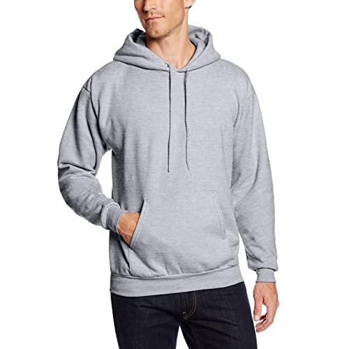 Grey Pullover Hoodie: Amazon.c