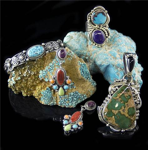 Handcrafted Turquoise Jewelry by Durango Silver Compa