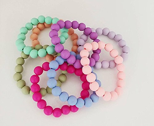Amazon.com: Silicone Beaded Bracelets, BPA Free Silicone Beads .