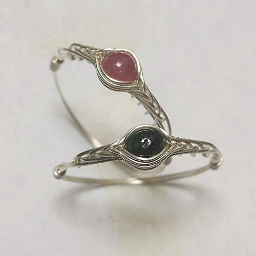 Amazon.com: size5 Natural Tourmaline 925 Sterling silver Handmade .