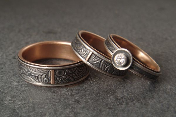 Down to the Wire for Unique Handmade Wedding Rings | Handmade .