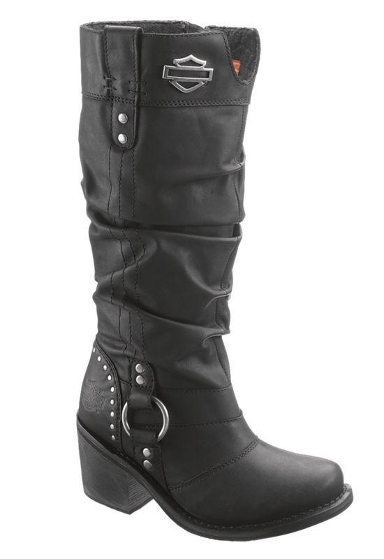 HARLEY DAVIDSON WOMEN'S JANA BOOT | Harley boots, Harley davidson .