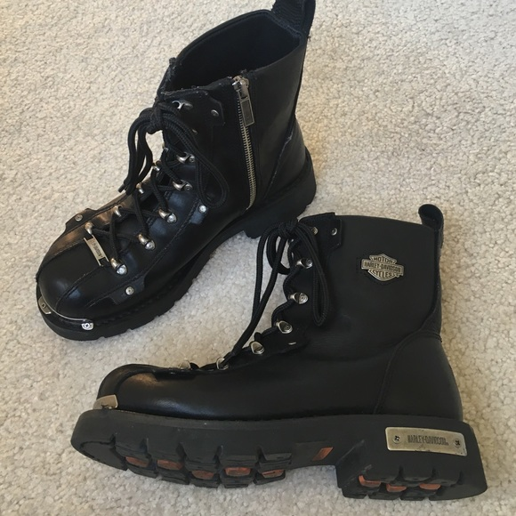 Harley-Davidson Shoes | Authentic Harley Davidson Women Boots Size .